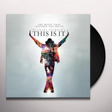 Michael Jackson This Is It Vinyl Record