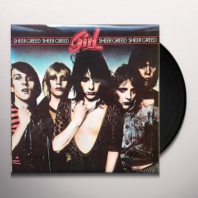 girl SHEER GREED Vinyl Record