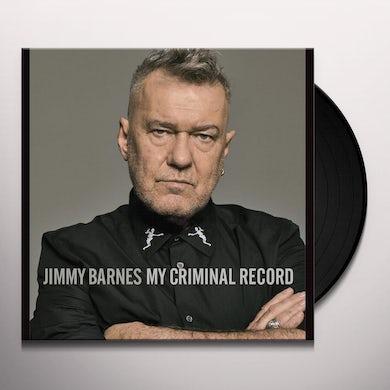 Jimmy Barnes MY CRIMINAL RECORD Vinyl Record