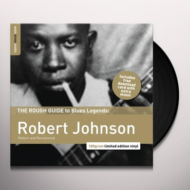 Robert Johnson ROUGH GUIDE TO JAZZ & BLUES Vinyl Record