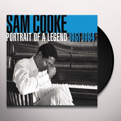 Sam Cooke PORTRAIT OF A LEGEND 1951-1964 Vinyl Record