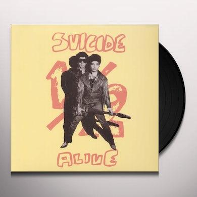 Suicide HALF ALIVE Vinyl Record