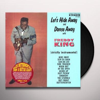 LET'S HIDE AWAY & DANCE AWAY WITH FREDDIE KING Vinyl Record