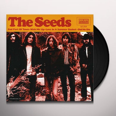 The Seeds BAD PART OF TOWN Vinyl Record