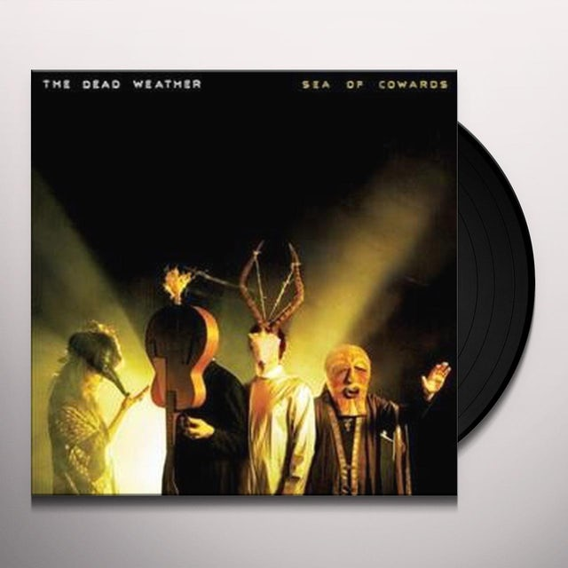 The Dead Weather SEA OF COWARDS Vinyl Record