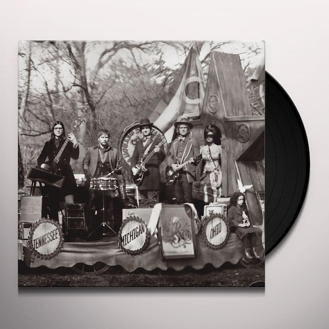The Raconteurs CONSOLERS OF THE LONELY Vinyl Record