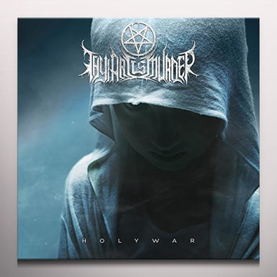 Thy Art Is Murder HOLY WAR Vinyl Record - Blue Vinyl
