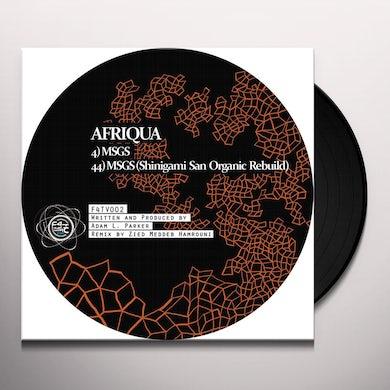 Afriqua MSGS Vinyl Record