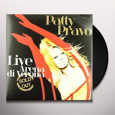 Patty Pravo LIVE SOLD OUT Vinyl Record
