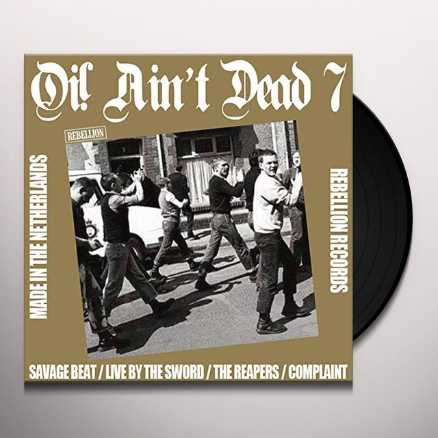Oi Ain'T Dead 7 / Various Vinyl Record