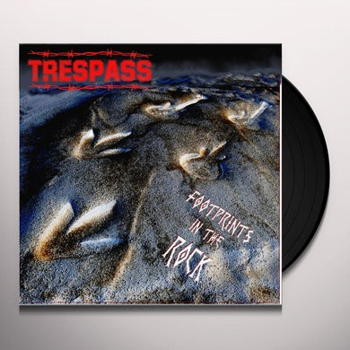 Trespass FOOTPRINTS IN THE ROCK Vinyl Record