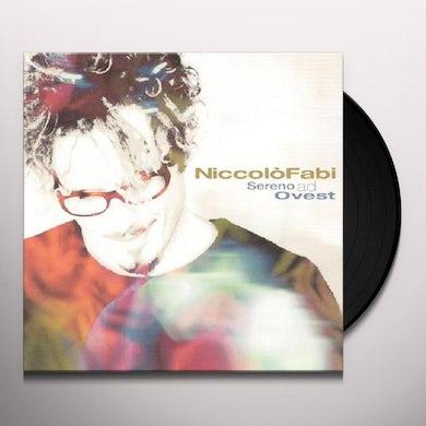 Niccolo Fabi SERENO AD OVEST Vinyl Record