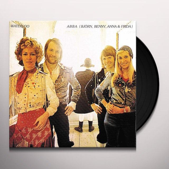 Abba WATERLOO Vinyl Record