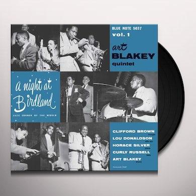 NIGHT AT BIRDLAND WITH ART BLAKEY QUINTET VOL 1 Vinyl Record