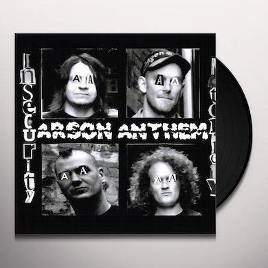 Arson Anthem INSECURITY NOTORIETY Vinyl Record