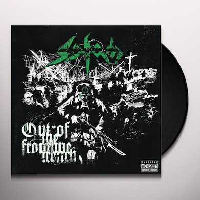 Sodom OUT OF THE FRONTLINE TRENCH Vinyl Record