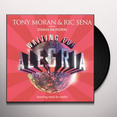 Zhana Saunders WAITING FOR ALEGRIA Vinyl Record