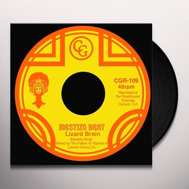 Mestizo Beat LIZARD BRAIN Vinyl Record