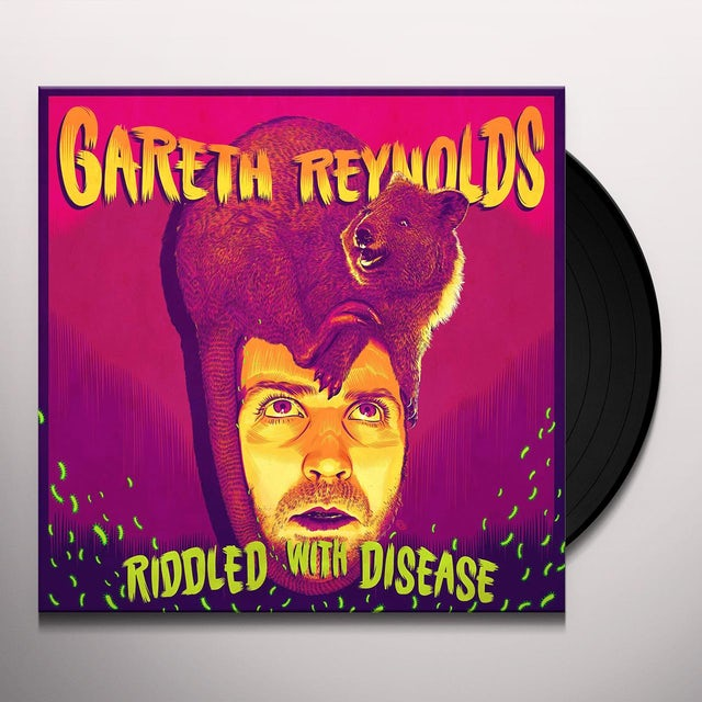 Gareth Reynolds RIDDLED WITH DISEASE Vinyl Record