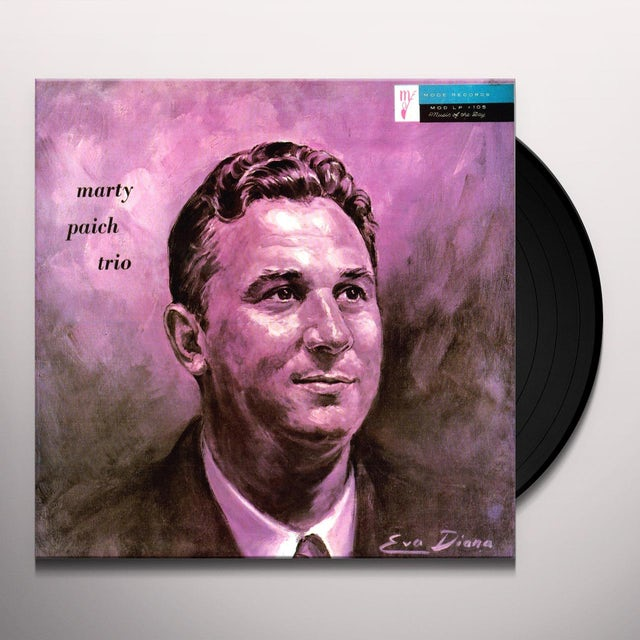 Marty Paich TRIO Vinyl Record
