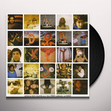 Donkeys ( Casiotone For The Painfully Alone ) SPLIT Vinyl Record - Limited Edition