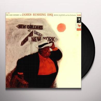 Jimmy Rushing JAZZ ODYSSEY OF JAMES RUSHING ESQ Vinyl Record