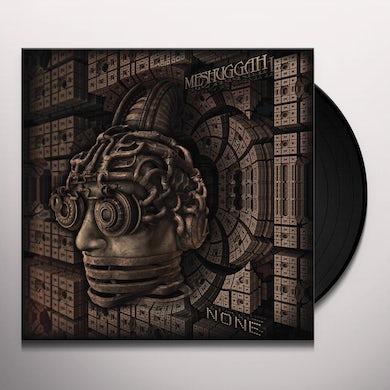 MESHUGGAH NONE Vinyl Record