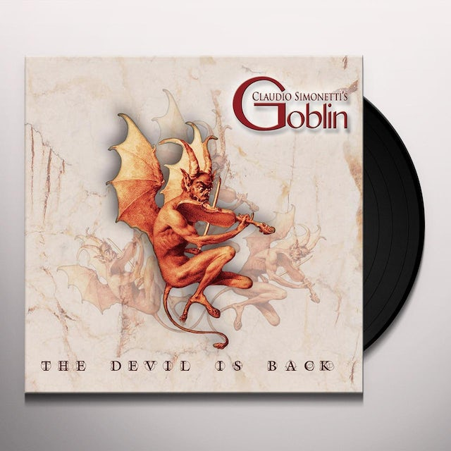 Claudio Simonetti's Goblin DEVIL IS BACK Vinyl Record