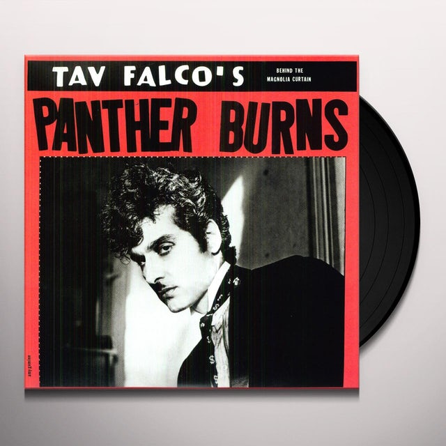 Tav / His Panther Burns Falco LORE & TESTAMENT 1: BEHIND THE MAGNOLIA CURTAIN Vinyl Record