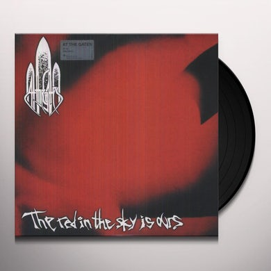 At The Gates RED IN THE SKY IS OURS Vinyl Record