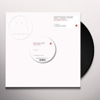 Matthew Dear DESERTER Vinyl Record