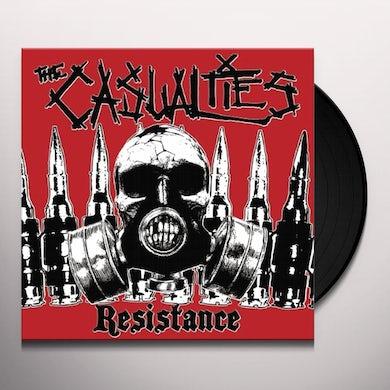 The Casualties RESISTANCE Vinyl Record