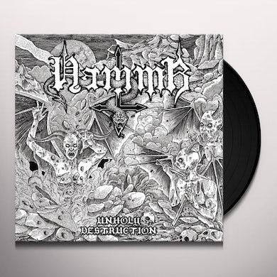 Hammr UNHOLY DESTRUCTION Vinyl Record