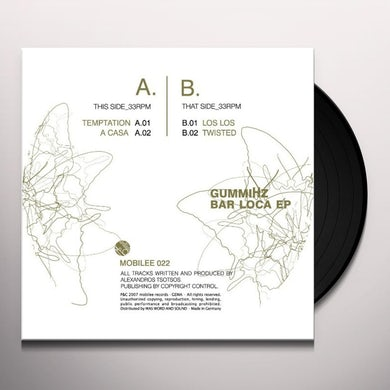 Gummihz BAR LOCA EP Vinyl Record