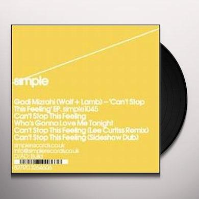 Gadi Mizrahi CAN'T STOP THIS FEELING Vinyl Record