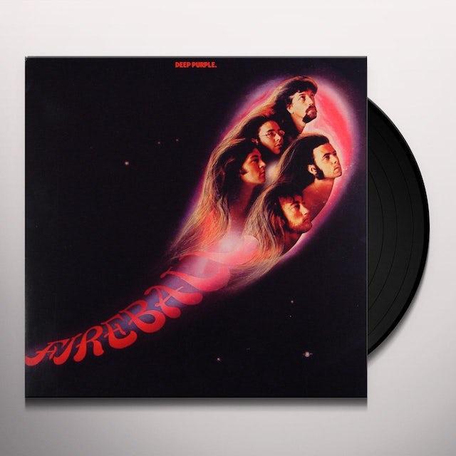Deep Purple FIREBALL Vinyl Record