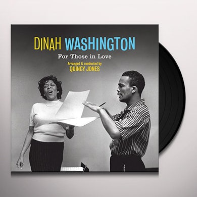 Dinah Washington FOR THOSE IN LOVE Vinyl Record - 180 Gram Pressing, Remastered, Spain Release