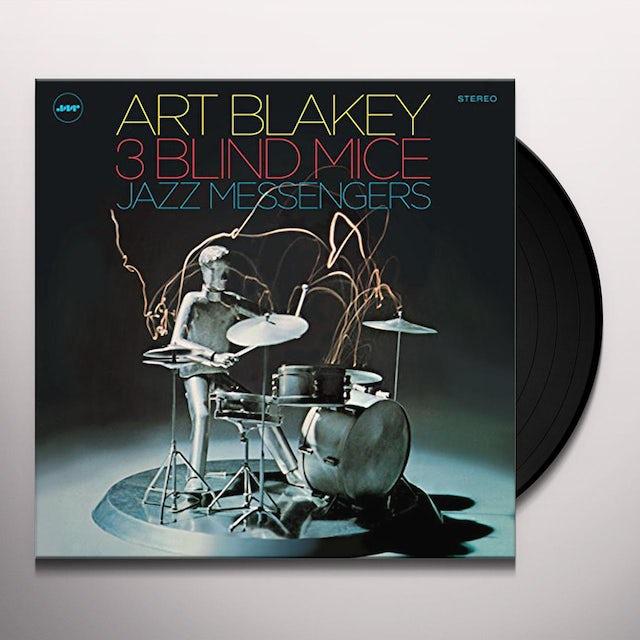 Art Blakey & The Jazz Messengers THREE BLIND MICE Vinyl Record
