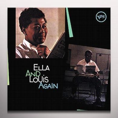 Ella Fitzgerald ELLA & LOUIS AGAIN Vinyl Record - Colored Vinyl, Green Vinyl, Limited Edition, 180 Gram Pressing, Remastered