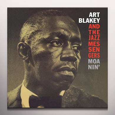 Art Blakey MOANIN Vinyl Record - Colored Vinyl, Limited Edition, 180 Gram Pressing, Red Vinyl, Remastered, Spain Release
