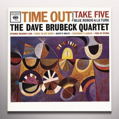 Dave Brubeck TIME OUT (BONUS TRACK) Vinyl Record - Colored Vinyl, Limited Edition, 180 Gram Pressing, Orange Vinyl