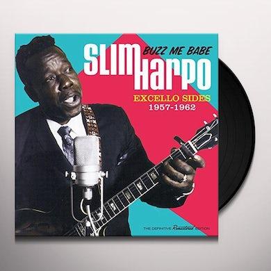 Slim Harpo BUZZ ME BABE: EXCELLO SIDES 1957-1961 Vinyl Record - Limited Edition, 180 Gram Pressing