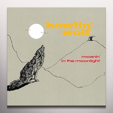 Howlin' Wolf MOANIN IN THE MOONLIGHT Vinyl Record - Colored Vinyl, Limited Edition, 180 Gram Pressing, Red Vinyl