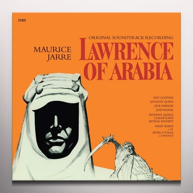 LAWRENCE OF ARABIA / Original Soundtrack Vinyl Record - Colored Vinyl, Limited Edition, 180 Gram Pressing