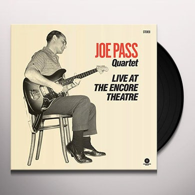Joe Pass LIVE AT THE ENCORE THEATRE Vinyl Record - Limited Edition, 180 Gram Pressing, Collector's Edition, Virgin Vinyl