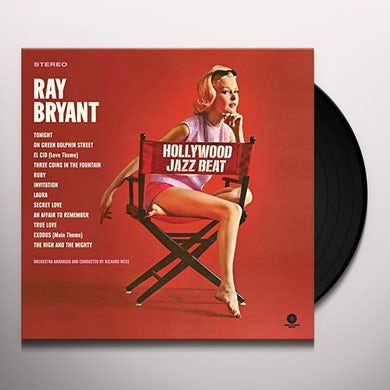 Ray Bryant HOLLYWOOD JAZZ BEAT Vinyl Record - Limited Edition, 180 Gram Pressing, Collector's Edition, Remastered, Virgin Vinyl