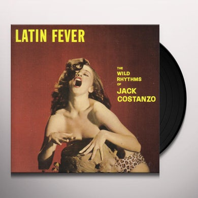 Jack Costanzo LATIN FEVER Vinyl Record - Limited Edition, 180 Gram Pressing, Collector's Edition, Remastered, Virgin Vinyl, Spain Release