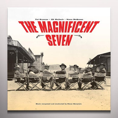 Elmer Bernstein MAGNIFICENT SEVEN / Original Soundtrack Vinyl Record - Colored Vinyl, Limited Edition, 180 Gram Pressing