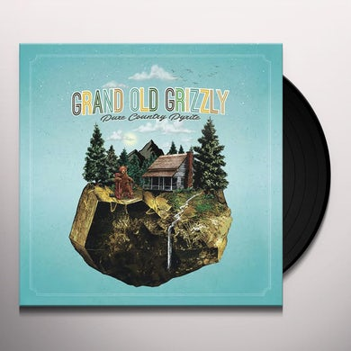 Grand Old Grizzly PURE COUNTRY PYRITE Vinyl Record