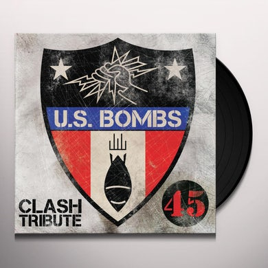 Us Bombs CLASH TRIBUTE Vinyl Record